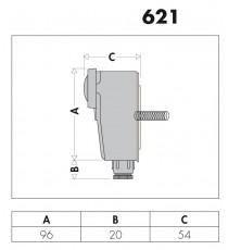 621 TERMOSTATO A CONTATTO REGOLABILE 20÷90°C CALEFFI