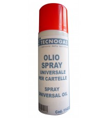 OLIO UNIVERSALE PER CARTELLE 200 ml TECNOGAS