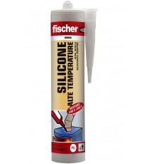 SILICONE acetico ALTE TEMPERATURE ROSSO Fischer - 310 ml