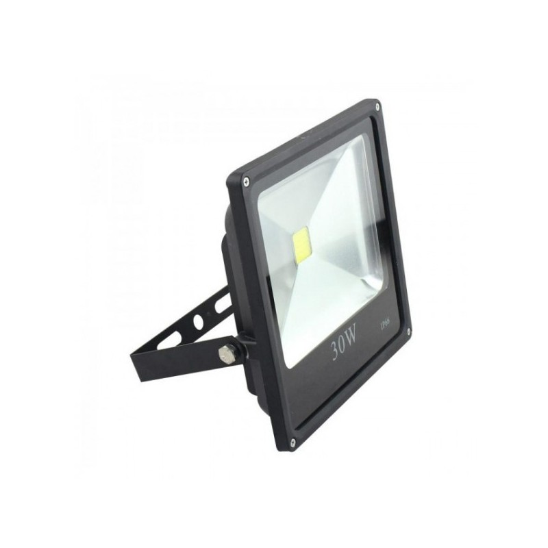 Faro a led slim 30 w ip66 luce fredda illuminazione per esterno emmeffeci - Illuminazione a led per esterno ...