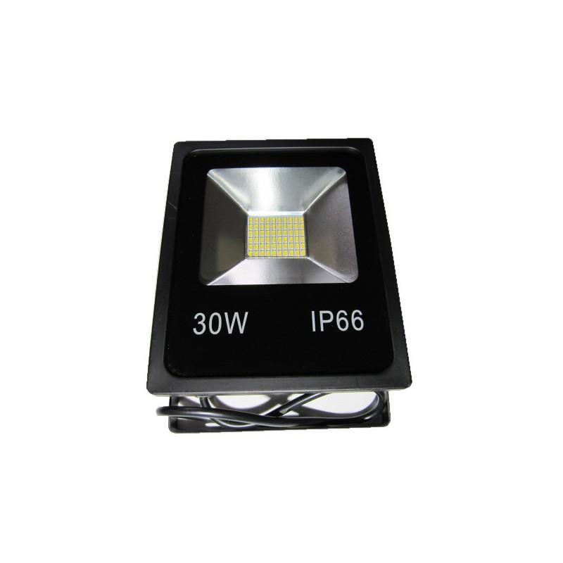 Faro a led slim 30 w ip66 luce fredda illuminazione per - Illuminazione a led per esterno ...