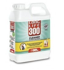 LONG LIFE 300 - CLEANER PER IMPIANTI DI RISCALDAMENTO (Elimina grassi, oli e residui nei nuovi impianti) LT 1  GEL