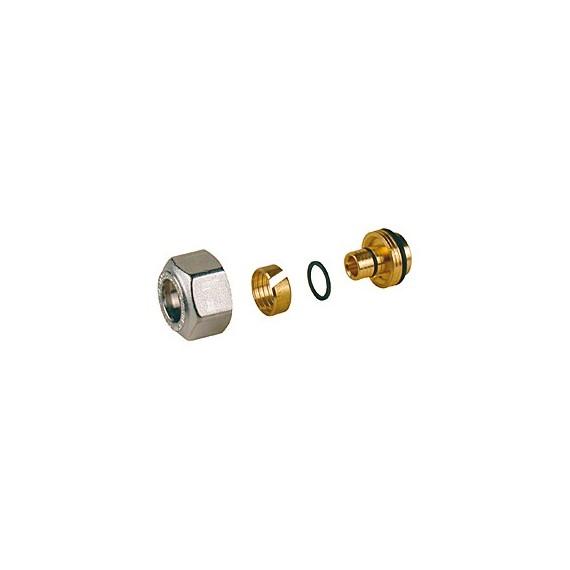 R179am adattatore per tubi in plastica o multistrato base 16 diametro tubo 16x2mm giacomini - Diametro tubo multistrato per bagno ...