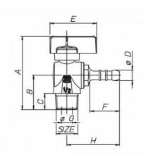 BON GAS RUBIN. SFERA GAS 1/2