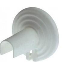 2 pezzi ROSETTA X RADIATORI PVC BIANCA COPRITUBO UNIVERSALE