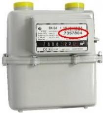 G4 CONTATORE X GAS METANO/GPL