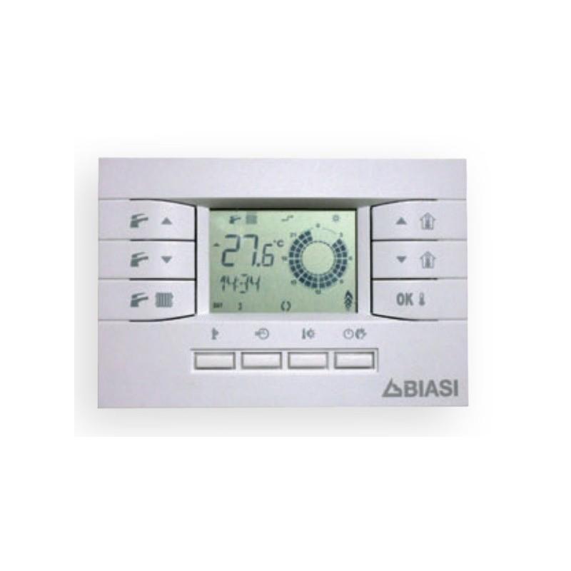 comando remoto termostato modulante biasi caldaia a