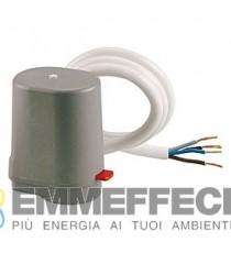 R473M TESTA ELETTRO TERMOSTATICA Normalmente chiusa con micreointerruttore 230 V
