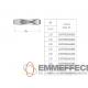 CANNA FUMARIA DOPPIA PARETE INOX AISI 316 d. 80 CORDIVARI
