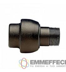 Giunto dielettrico filettato femmina/maschio. A norma UNI CIG 10824 PN 10 ENOLGAS