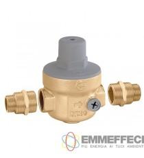 """Scarica539 Riduttore di pressione da 3/4"""" con doppio attacco manometro 1/4"""" F CALEFFI"""