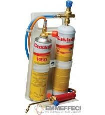 KIT CANELLO CASTOLIN FLEX 2000 con regolatore ossigeno e gas