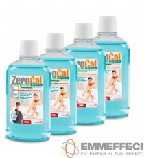 RICARICA ZEROCAL DOSE GEL 4 FLACONI DA 500 ml