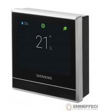 "CRONOTERMOSTATO Wi-Fii SIEMENS SMART RDS110  display touch lcd 3,5"" - wfii wireless"