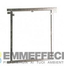 TELAIO METALLICO REGOLABILE PER COPERTURA NICCHIE COLLETTORI R595T X PORTELLI R595P GIACOMINI