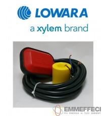 GALLEGGIANTE ELETTRICO KEY LOWARA XYLEM 5 MT IN PVC CON CONTRAPPESO