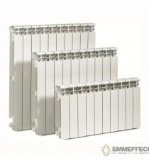 RADIATORE IN ALLUMINIO GLOBAL MODELLO VOX INTERASSE 350 mm BATTERIA DA  10 / 82 Kcal/h ad elemento
