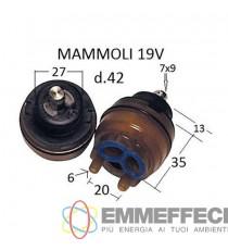 CARTUCCIA PER MISCELATORE MAMOLI 19 V mm 43