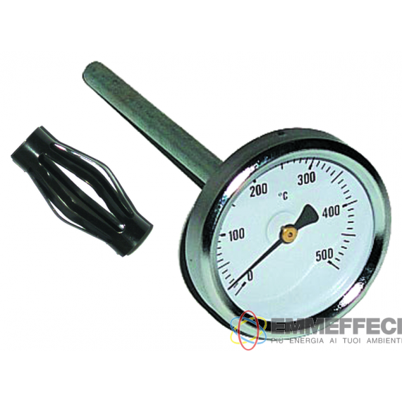 PIROMETRO FUMI D. 63 GAMBO MM. 200 0-500 g° TECNOGAS