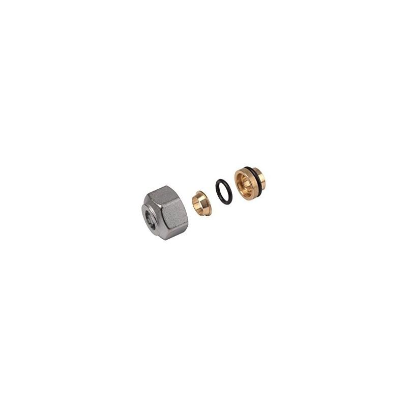 R178 adattatore per tubi in rame base 16 diametro tubo 16mm giacomini emmeffeci - Diametro tubo multistrato per bagno ...