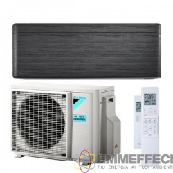 CONDIZIONATORE DAIKIN STYLISH BLACKWOOD 9000 BTU R32 INVERTER A+++ WIFI FTXA25AT/RXAA